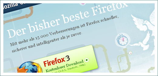 Firefox Homepage Screenshot